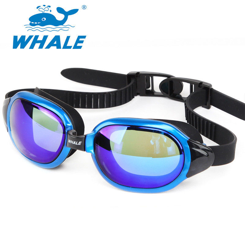 Mirrored Swim Goggles Leakproof Swimming Goggles For Men / Women